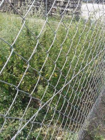 Plasa gard impletita zincata h-1,5m