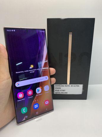 Samsung Note 20 Ultra память 256Гб ОЗУ 8Гб