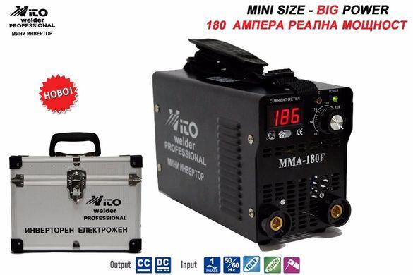 Инверторни IGBT Eлектрожени VITO - MINI 180F+ Дисплей + Луксозен Куфар