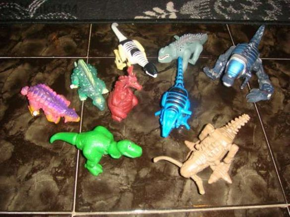 Механични динозаври!