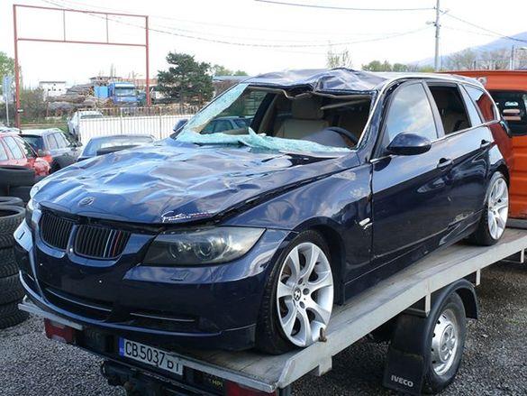 БМВ Е91 330ХД - 231 коня на части BMW e91 330xd 231hp 4х4