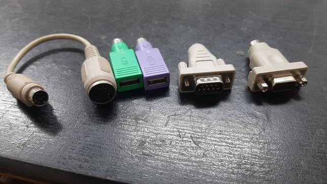 Adaptoare AT PS/2 USB Mouse Tastatura Vechi Retro Vintage
