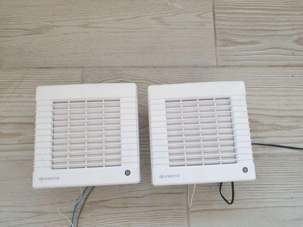 Ventilatoare de baie, bucatarie sau alte spatii Vents 125 automate