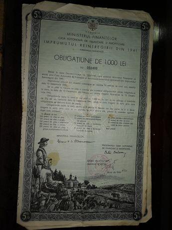 Obligațiune din 1941