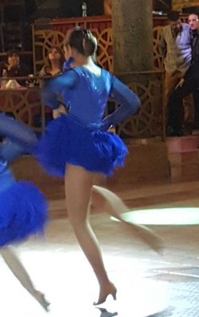 Рокля за стандартни и латино танци 3 части 14-16 години