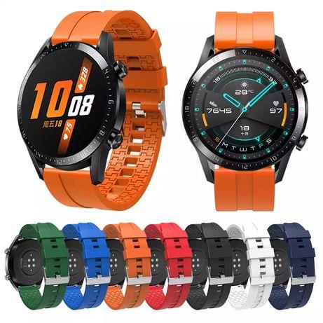 Huawei Watch GT2/Pro/GT силиконова верижка + протектор за дисплей