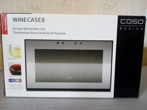 CASO WineCase 8 хладилна витрина за ВИНО