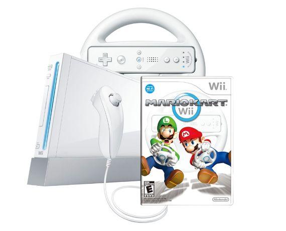 Wii Nintendo modat cu multe jocuri cu Mario