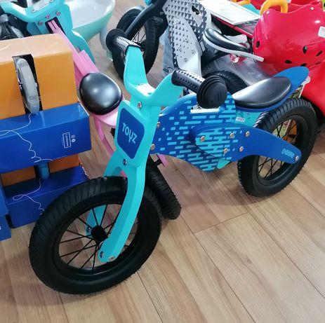 Bicicleta fara pedale Toyz ENDURO Albastra