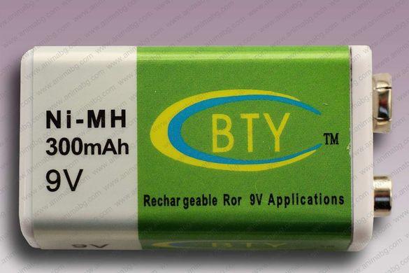 ANIMABG Презареждащи батерии PP3 9V Ni-MH 300mAh