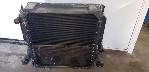 Ремонт на радиатори за трактор комбайн багер камион генератор за ток