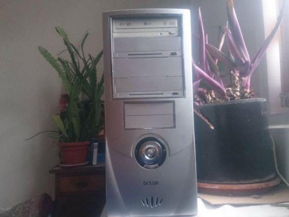 Мощен четириядрен компютър