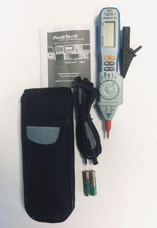 мултиметър тип писалка Peaktech 1080, измервателен уред, нов, немски