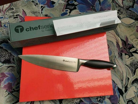 Нов. Наличен Професионален немски нож Tupperware от Pro Chef Series. Н