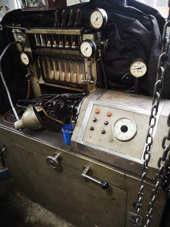 Banc centricubat pompe injectie