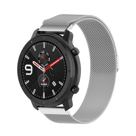 Метална каишка Strap за Huawei GT/GT2 42mm, Galaxy Watch, Amazfit 42mm