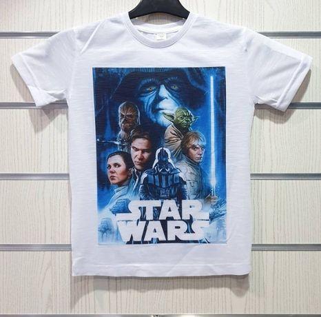 Нова детска тениска с щампа междузвездни войни, star wars