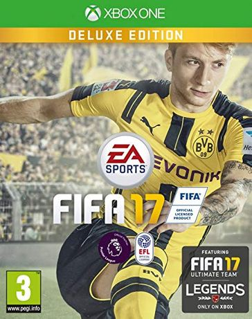 FIFA 17 - Deluxe Edition (Xbox One) - чисто нова с фабрично фолио