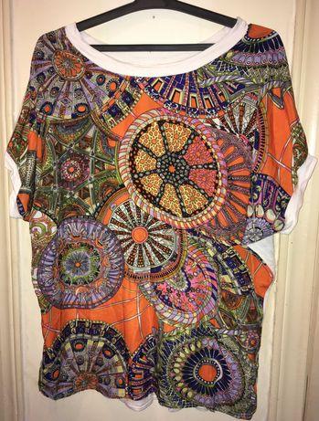 Дамска лятна тениска XL