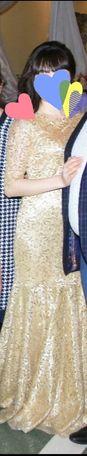 Продам золотистое платье