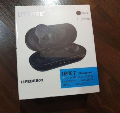 Bluetooth Headphones, LIFEBEE Bluetooth 5.0 True Wireless Earphones, W