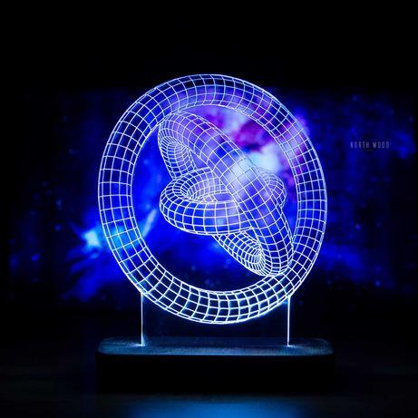 Эксклюзивные светильники с иллюзией 3D