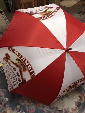 Големи чадъри буроустойчиви(за двама)рекламни,made in UK - JB Smirnoff
