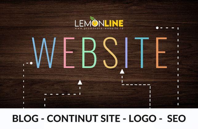 Creare site web, site prezentare, website, magazin online