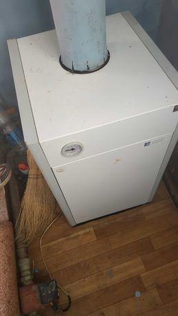 Печь отопительная и обогреватель для воды