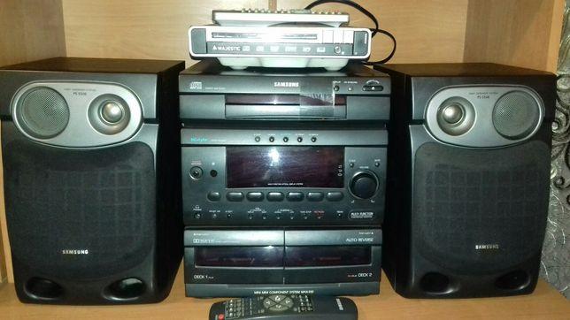 Sistem audio - SAMSUNG PS-550 E cu 102w și Dvd MAJESTIC cu USB