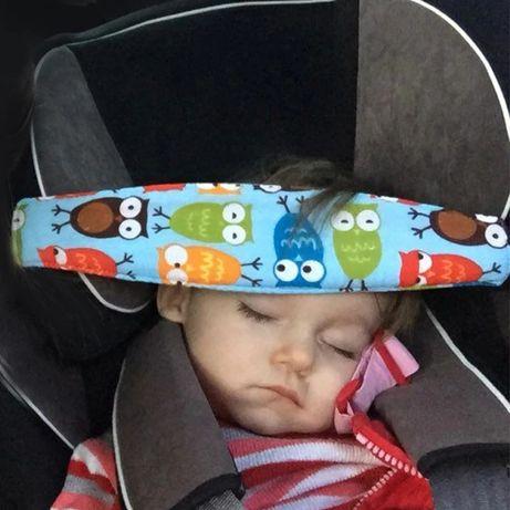 Centura reglabila pt capul copilului in scaunul de masina