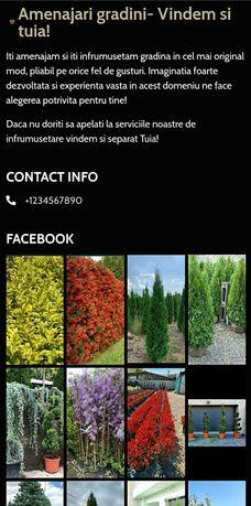 Plante ornamentale o gama largă
