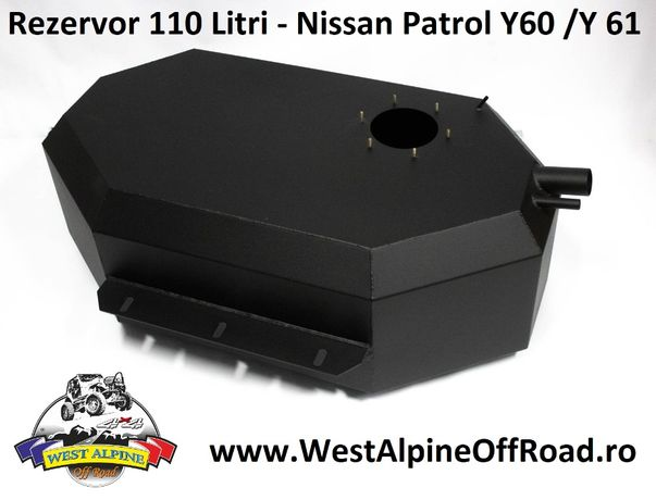 Rezervor Nissan Patrol Y60 / Y61 / GU4 - 110 LITRI combustil - OFFROAD