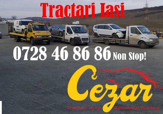 Tractari Iasi / Platforma Auto / Transport / Dube / Microbuze Non Stop