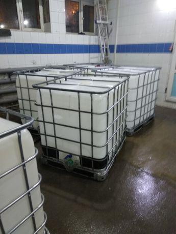 Продам кубовые бочки, емкости