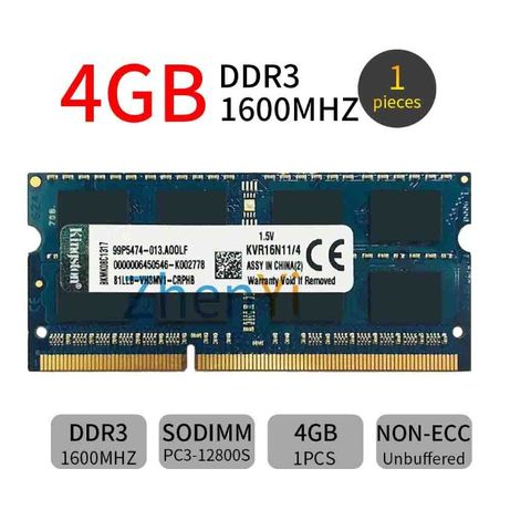 Rami laptop ddr3 8gb 1600mhz