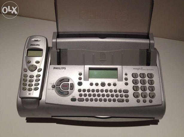 Telefon fax philips sms voice dect