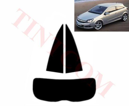 Opel Astra H (3 врати, хечбек, 05 - 09) Фолио за затъмняване на стъкла