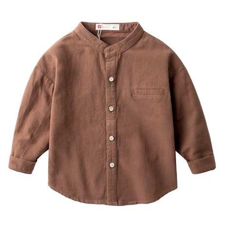 Детская мальчиковая рубашка