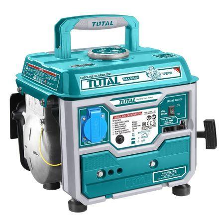 Generator curent pe benzina 800W TOTAL Industrial (RIV-TP18001)