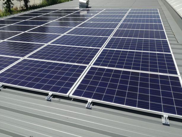 Panouri fotovoltaice  cu montaj