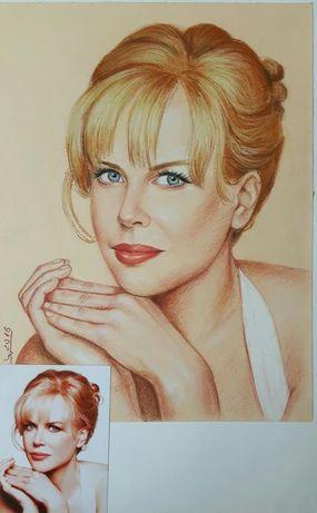 Рисувам портрети по снимка
