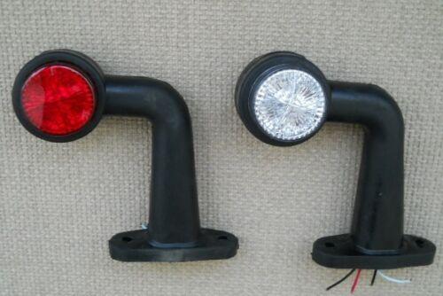 2 бр. Лед LED 12 /24 V Диодни светлини тип рогче за камион