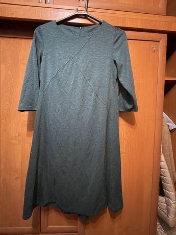 Платье 3/4 рукав ниже колен новое