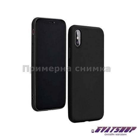 Кейс Forcell Silicone Lite за Samsung Galaxy A41, черен