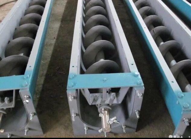 Изготовление транспортировачных шнеков шнек для цемента зерна
