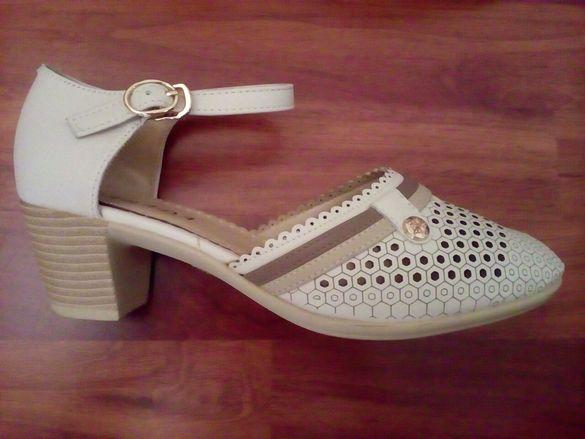 Дамски обувки - естествена кожа