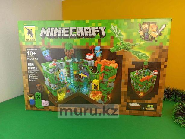 Конструкторы детские Minecraft Большие от 700 деталей Доставка Новый