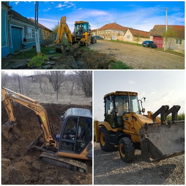 Inchiriez Buldoexcavator 7,5 tone / Excavator / Miniexcavator 3,5 tone Bocsa - imagine 1