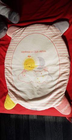Зимна подложка за бебешка количка